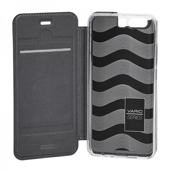 Vario Series - Huawei P10 Booktasche, basaltgrau