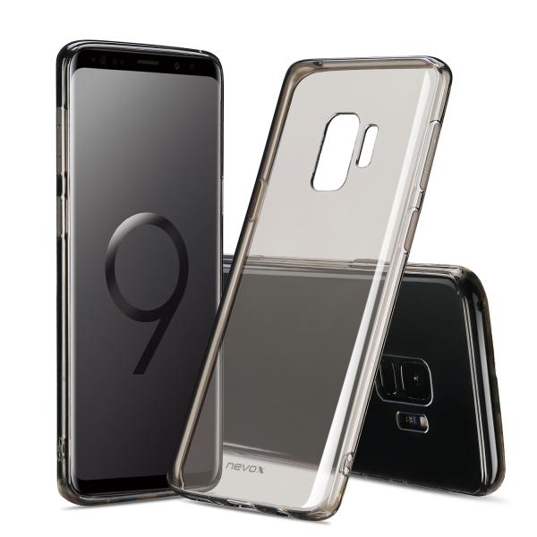 StyleShell Flex - Samsung S9, schwarz-transparent
