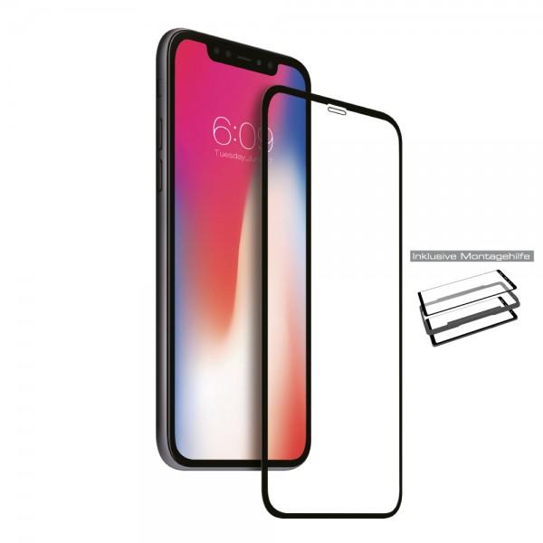 NEVOGLASS 3D - iPhone SE 2020 / 8 / 7 curved glass mit EASY APP schwarz