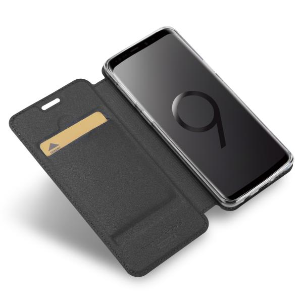 Vario Series - Samsung S9 Booktasche, basaltgrau
