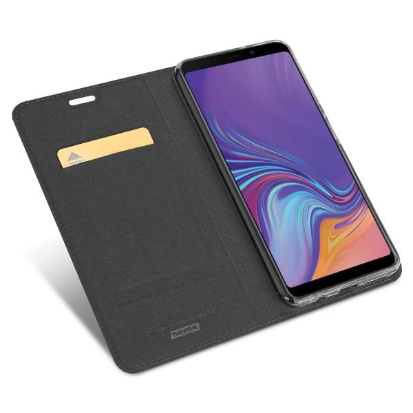 Vario Series - Samsung Galaxy A7 (2018) Booktasche, basaltgrau
