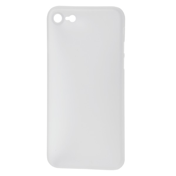 StyleShell Air - iPhone 8 / iPhone 7, weiss-transparent