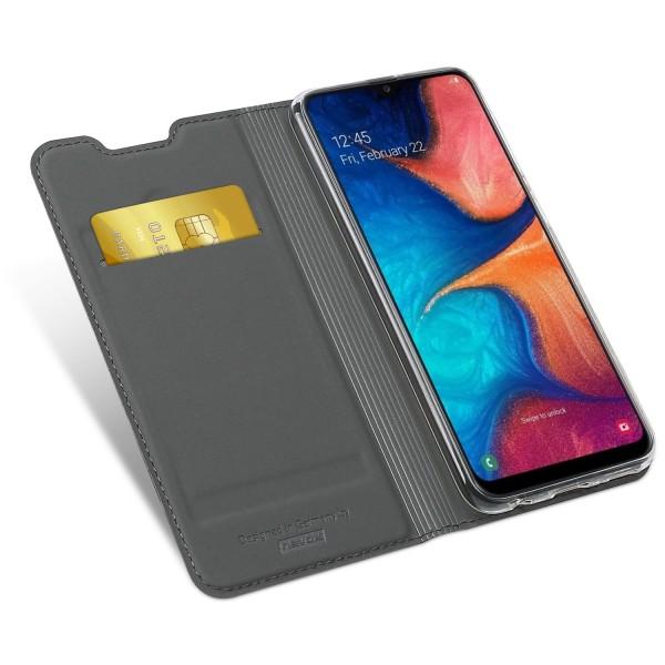 Vario Series - Samsung Galaxy A20e Booktasche, basaltgrau