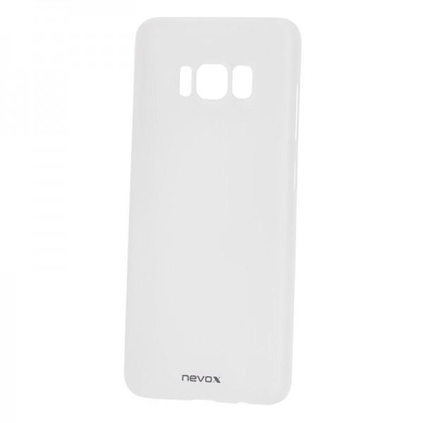 StyleShell Air - Samsung S8, weiss-transparent