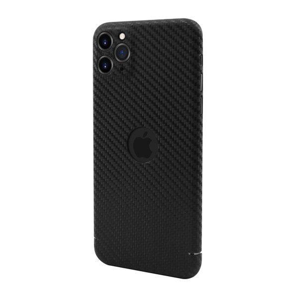 "CarbonSeries Cover - iPhone 11 Pro MAX 6.5"" mit Logoausschnitt"