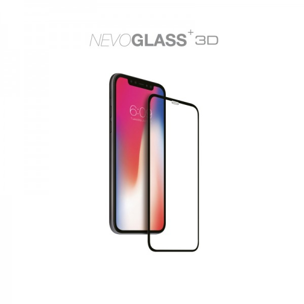 "NEVOGLASS 3D - iPhone 11 / XR 6.1"" curved glass ohne EASY APP"