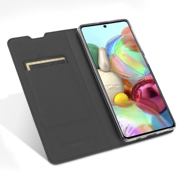 Vario Series - Samsung Galaxy A71 Booktasche, basaltgrau