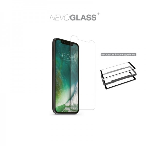 NEVOGLASS - iPhone SE 2020 / 8 / 7 / 6S / 6 tempered Glass mit EASY APP