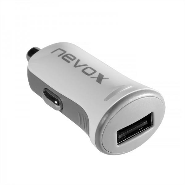 USB KFZ Ladeadapter Input: 10.5 - 18V - Output 5V / 2.4A