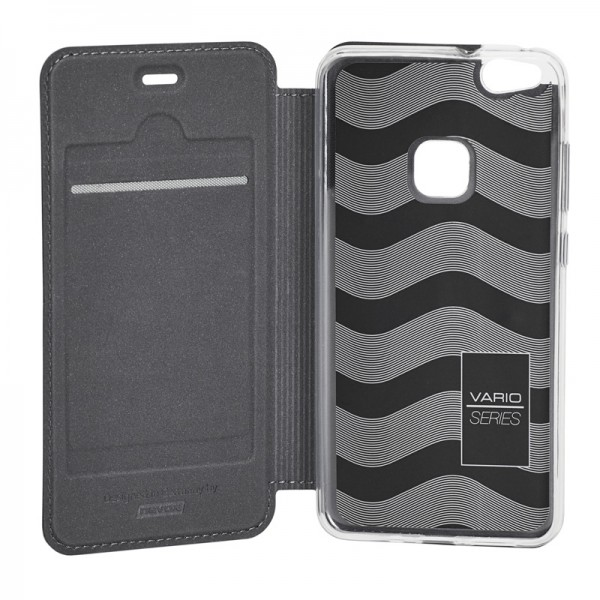 Vario Series - Huawei P10 Lite Booktasche, basaltgrau