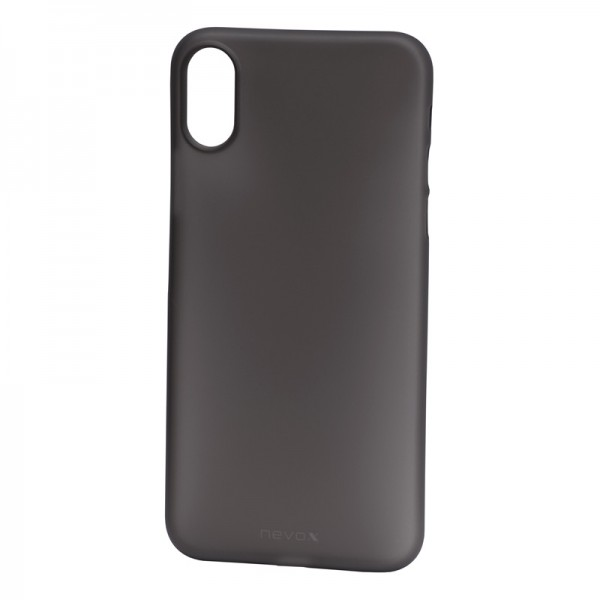 StyleShell Air - iPhone XS / X, schwarz-transparent