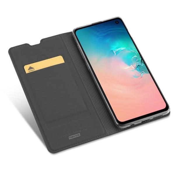 Vario Series - Samsung S10 Booktasche, basaltgrau