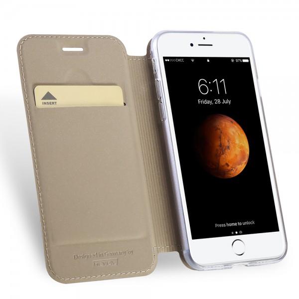 Vario Series - iPhone 8 / 7 Booktasche, sandgelb