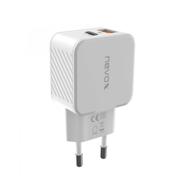 USB PD Type C + QC3.0 / PPS Ladegerät 30Watt, weiss