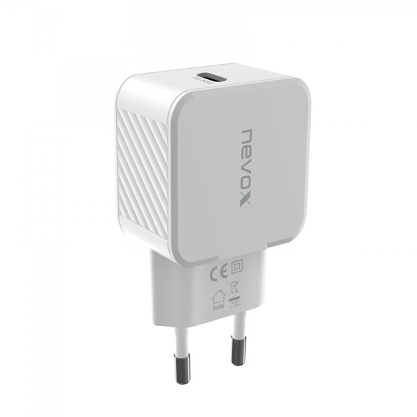 USB PD Type C / PPS Ladegerät 30Watt weiss