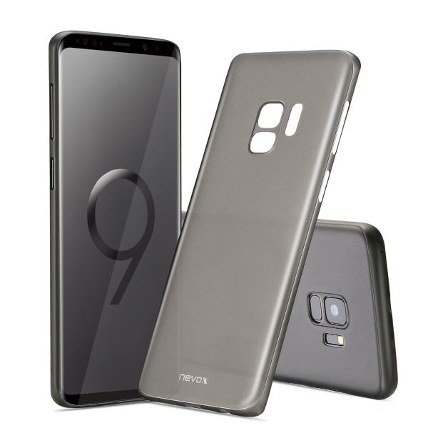 StyleShell Air - Samsung S9, schwarz-transparent