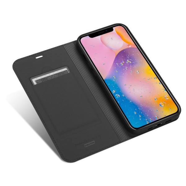 "Vario Series - iPhone 12 Pro / iPhone 12 6.1"" Booktasche, basaltgrau"
