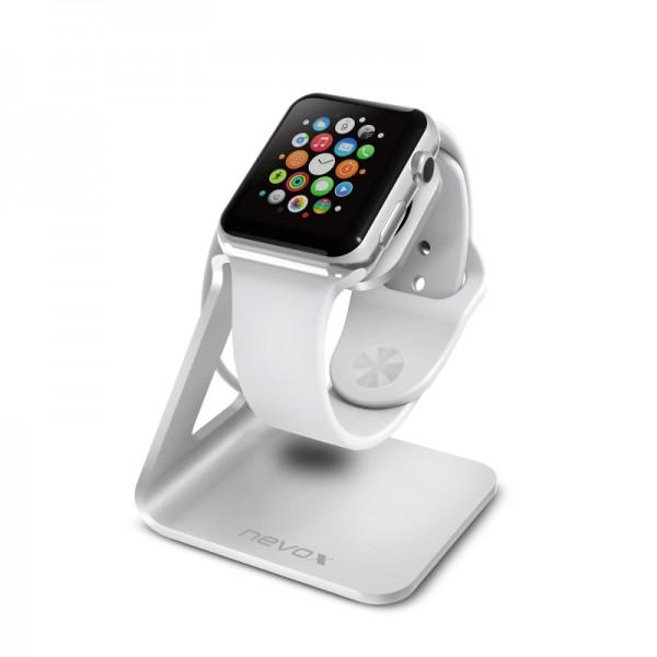 Aluminium Halterung für Apple Watch - Silber