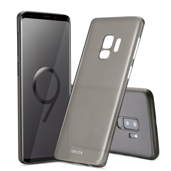 StyleShell Air - Samsung S9 Plus, schwarz-transparent