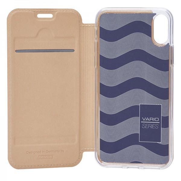 Vario Series - iPhone XS / X Booktasche, sandgelb