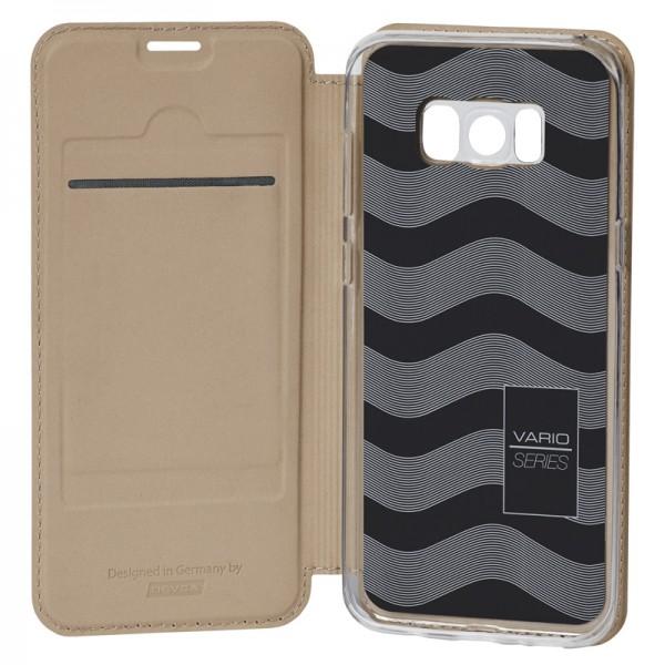 Vario Series - Samsung S8 Plus Booktasche, sandgelb