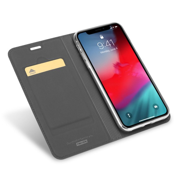 Vario Series - iPhone XR Booktasche, basaltgrau