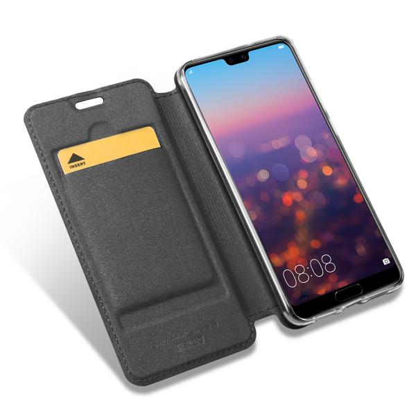 Vario Series - Huawei P20 Pro Booktasche, basaltgrau
