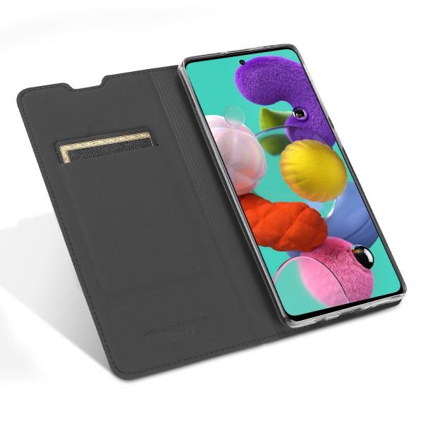 Vario Series - Samsung Galaxy A51 Booktasche, basaltgrau