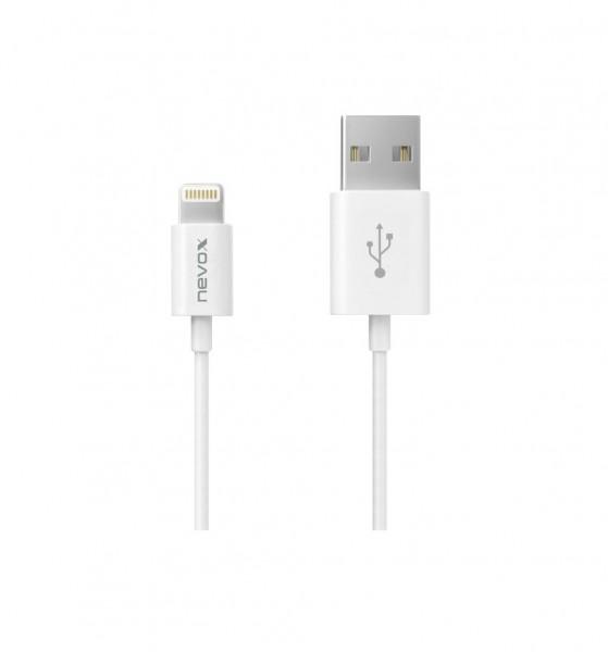 Lightning USB Datenkabel MFi 0,5m weiss