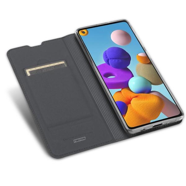 Vario Series - Samsung Galaxy A21s Booktasche, basaltgrau