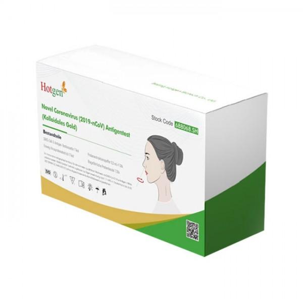 5x HOTGEN Selbsttest Antigen-Testkit